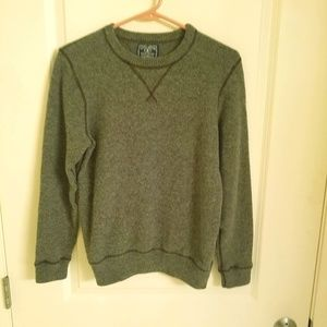 Lucky Brand Mens Size Small Gray Wool Sweater